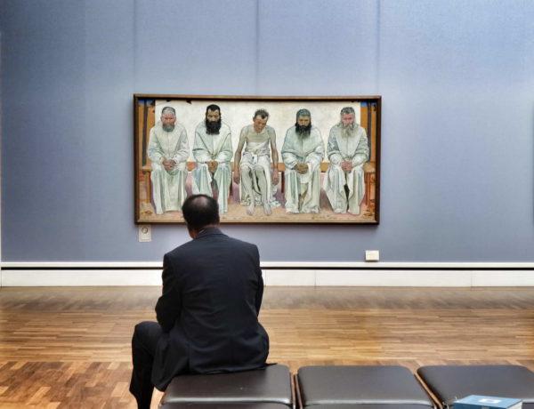 Munich - Neue Pinakothek_Ferdinand Hodler's Die Lebensmüden