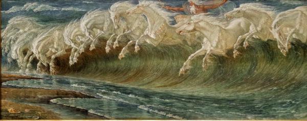 Munich - Neue Pinakothek_Walter Crane's Horses of Neptune