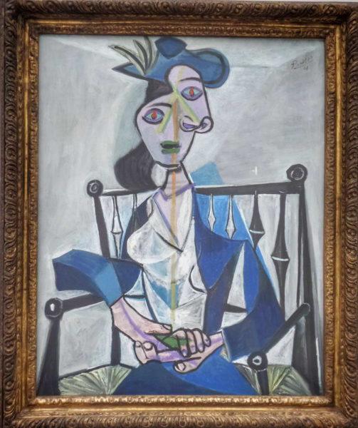 Munich - Pinakothek Moderne_Pablo Picasso's Dora Mara
