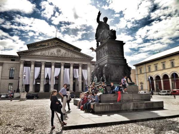 Munich - State Opera & Max Joseph