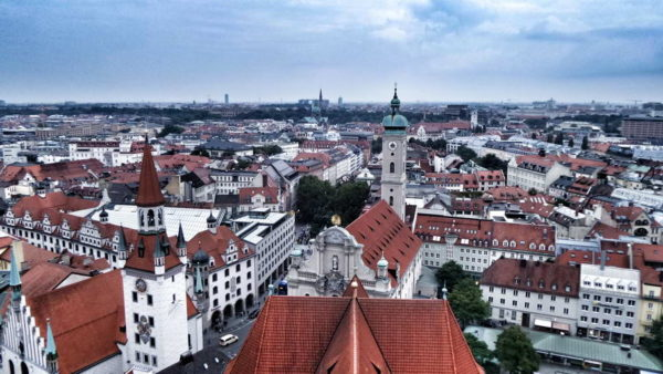 Munich_View from St Peter's Church