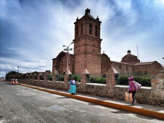 Peru_Pomata_Santiago Apóstolo Church