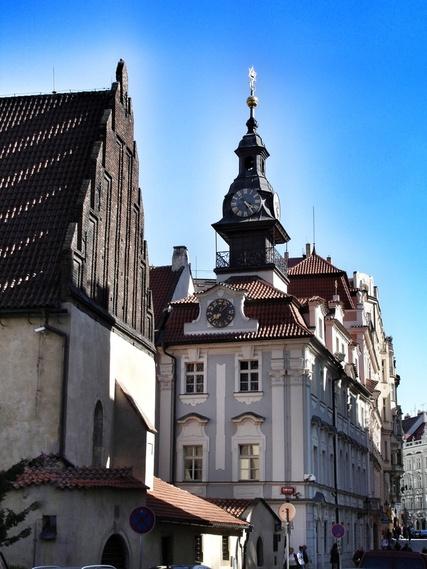 Prag_Jewish Town Hall