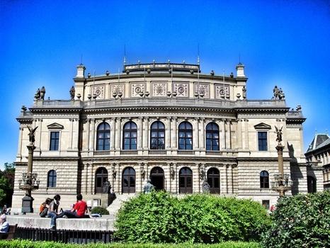Prag_Rudolfinum Concert Hall