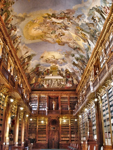 Prag_Strahov Monastery Library_Philosophical Hall