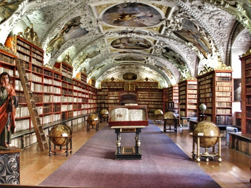 Prag_Strahov Monastery Library_Theological Hall