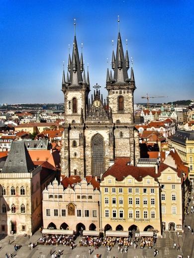 Prag_Týn Church