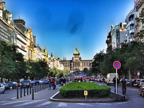 Prag_Wenceslas Square