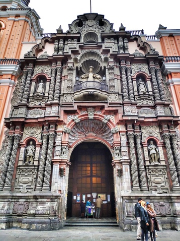 Lima_La _Merced Church