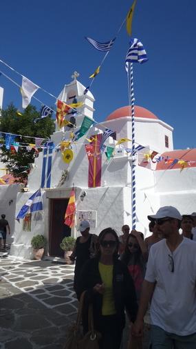 Mikonos Churches 1