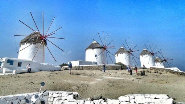 Mikonos Windmills 2