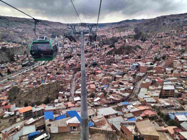 Bolivia-La Paz-Mi Teleferico