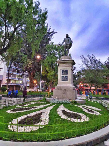 Bolivia-La Paz-Plaza de España