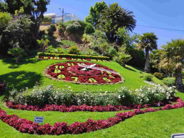 Chile-Viña del Mar -Flower Clock