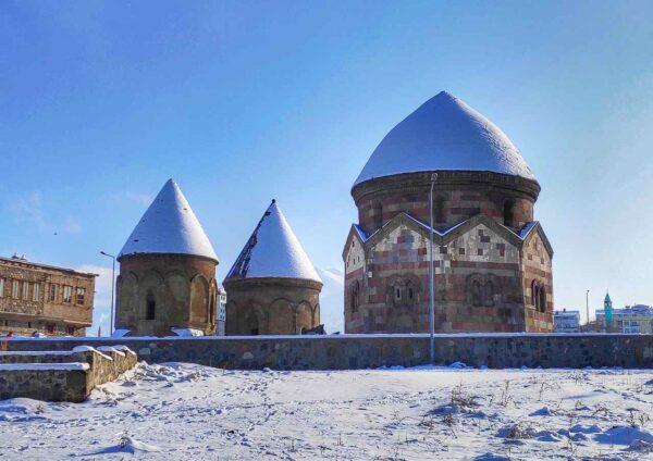 Erzurum_The Three Tombs