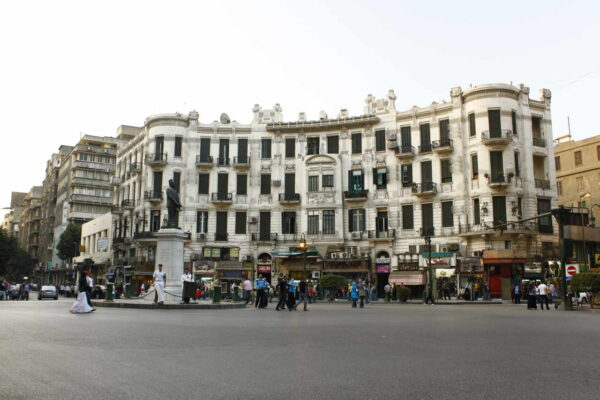 Egypt_Cairo_Talaat Harb Square