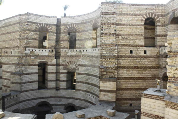 Egypt_Cairo_The Roman Fortress of Babylon