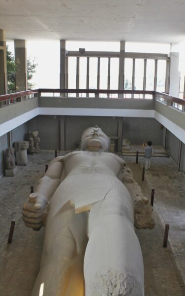Egypt_Memphis_Statue of Ramesses II (1)